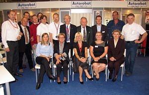 Spotkanie rodzinne uczestników premiery Automechanika, Frankfurt 2012