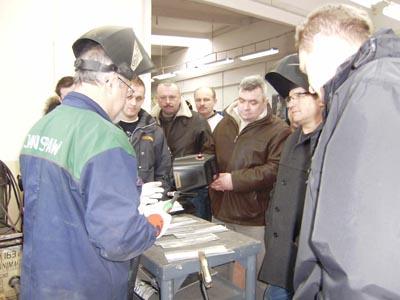 Prezentacja spawania blach konstrukcji aluminiowych Tigiem